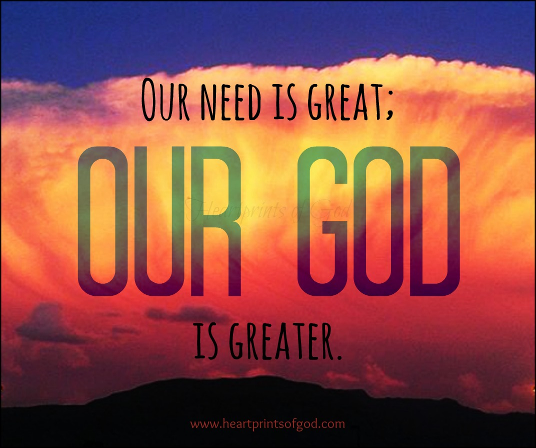 abOur God Is Greater~